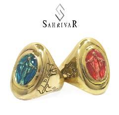 SAHRIVAR SR89B17S Maria Enameled Ring