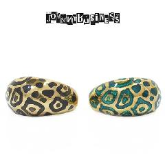 JOHNNY BUSINESS JR12M17S Enameled Animal Ring