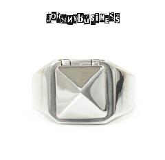 JOHNNY BUSINESS JR15S17S Pyramid Studs Ring