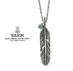 HARIM HRP120 OX Feather Necklace /S 【CENTER】