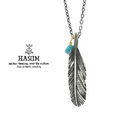 HARIM HRP121 OX Feather Necklace /S 【LEFT】