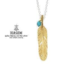 HARIM HRP120 GP Feather Necklace /S 【CENTER】