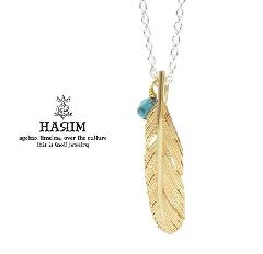 HARIM HRP121 GP Feather Necklace /S 【LEFT】