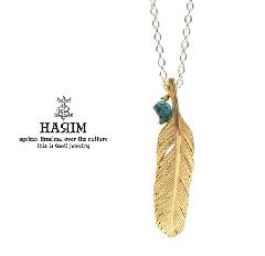 HARIM HRP123 GP Feather Necklace /S 【RIGHT】
