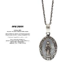 amp japan 17AAS-104 Small Mary Necklace - Mother of Pearl -