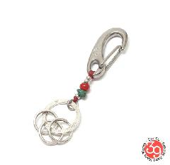 Sunku SK-212 RED WICHARD KEY RING