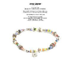 amp japan 17AHK-432 African Beads Bracelet & Anklet