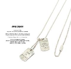 amp japan 17AJK-160 WAR IS OVER! Necklace