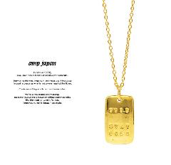 amp japan 17AJK-161 999.9 STAY GOLD Necklace