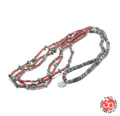 Sunku SK-238 Antique beads necklace/TQS