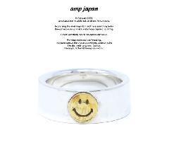 amp japan HYJK-208 Flat Silver Smile RG