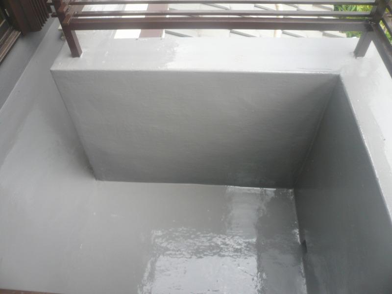 ベランダ塗装防水工事
