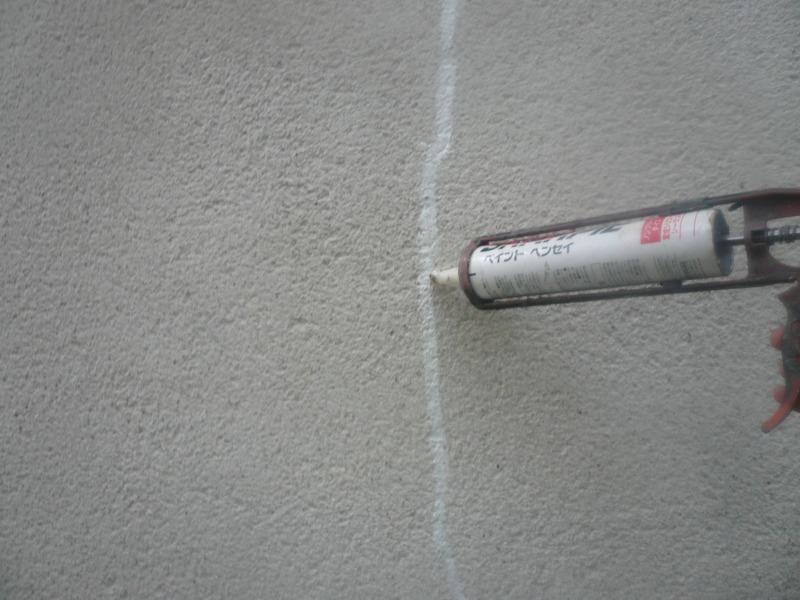 住宅壁面 ヒビ、割れ補修