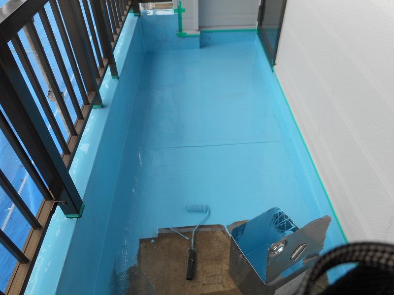 八尾市 宅ベランダ防水工事