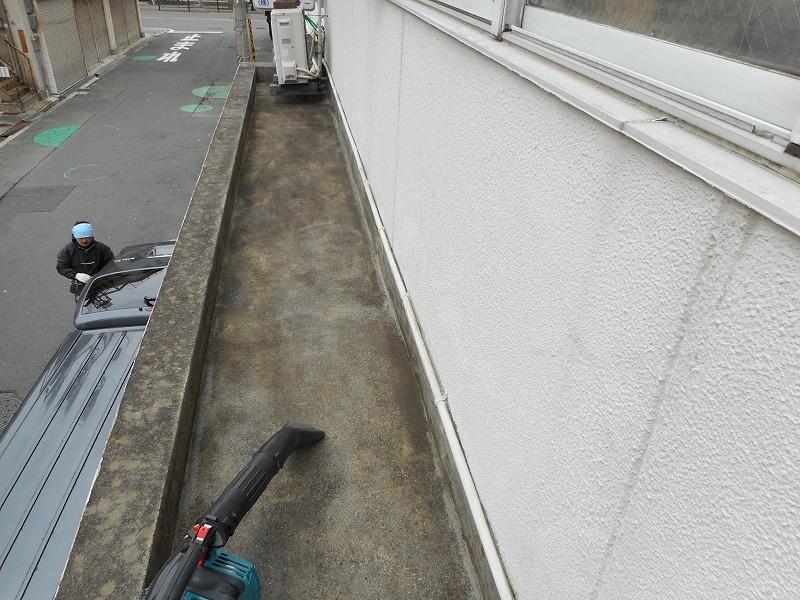 大阪市淀川区 庇防水工事