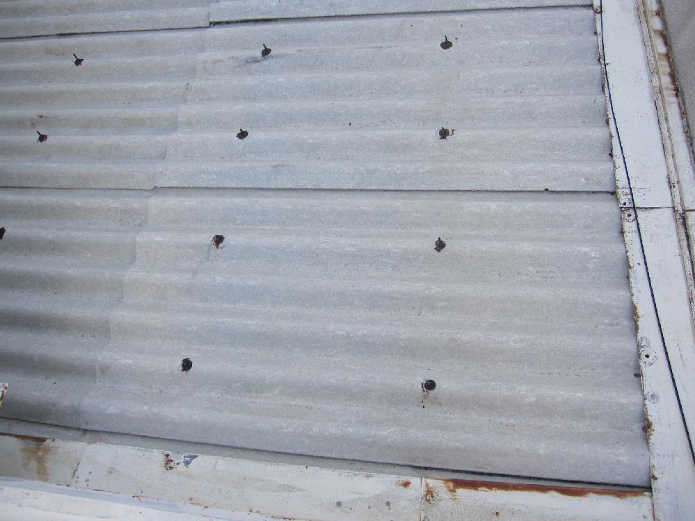スレート屋根塗装工事