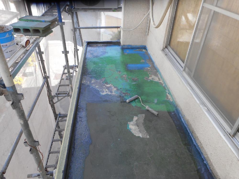 尼崎市 宅ベランダ防水工事