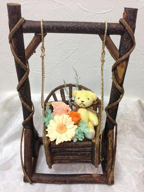 プリザーブドフラワー     Swing&Bear(Or)