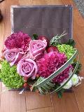 BOOK BOX  ピンク