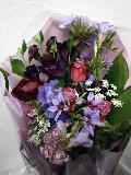 花束  パープル         B5-3