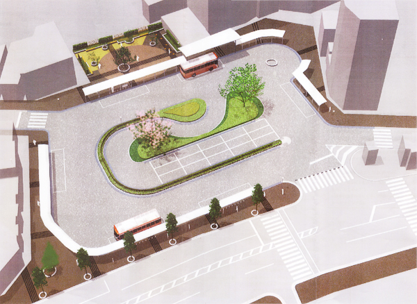 JR荻窪駅北口駅前広場修景設計計画