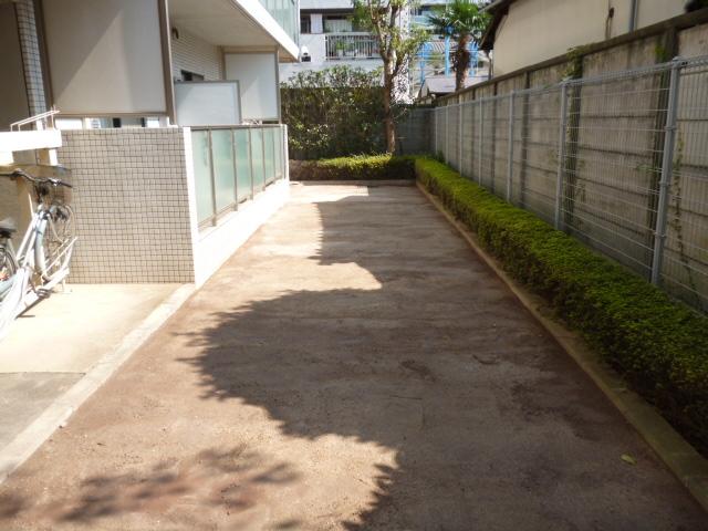 荻窪のマンションの永土(固まる土)処理