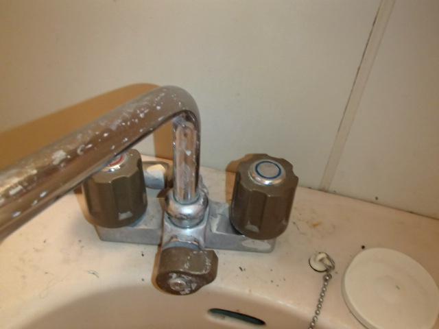 ユニットバス シャワー水栓部 清掃