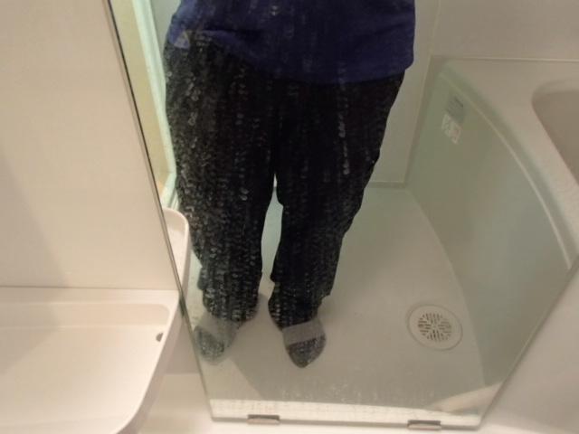 浴室 鏡鱗取り