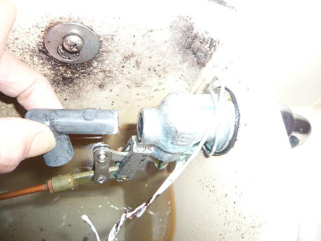 水洗トイレ ボールタップ 修理