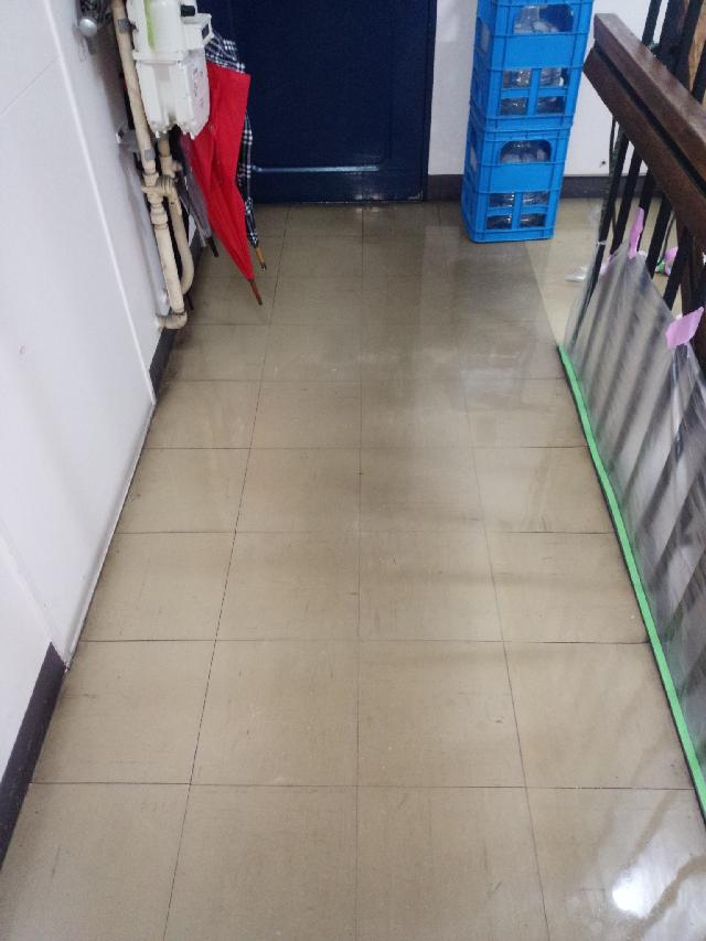 渋谷区 マンション 共用廊下 剥離清掃