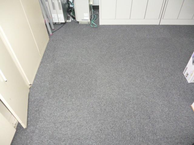 中野区 事務所 漏水対応後のカーペット清掃