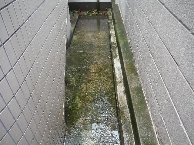 武蔵野市 アパート外周 高圧洗浄