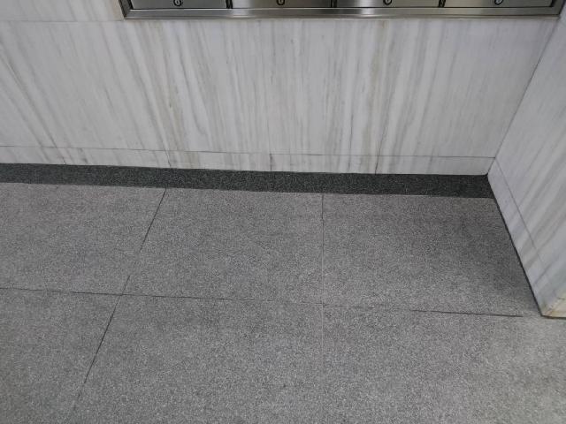 荻窪 テナントビル 石材シミ除去