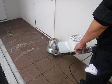 マンション 床面清掃