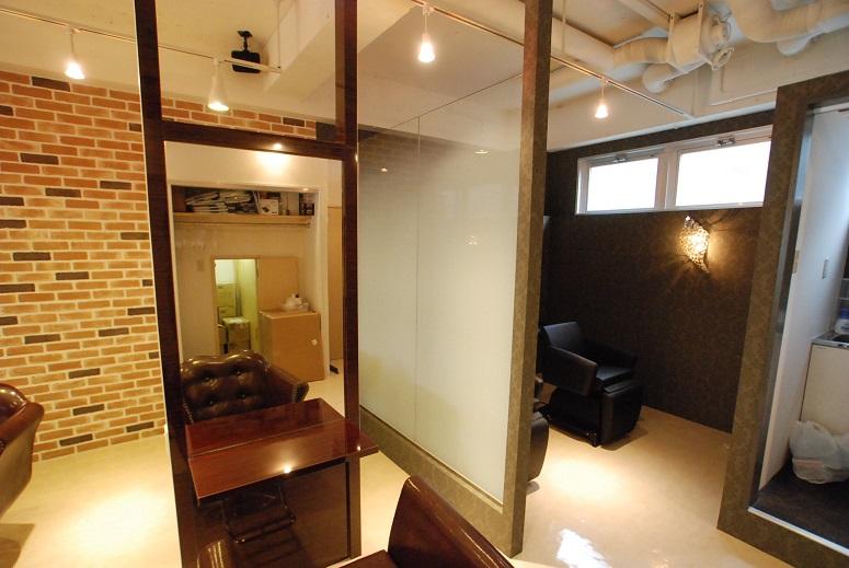 美容室 セット面 椅子