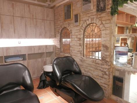 シャンプー台 美容室 サロン