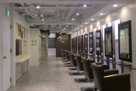 サロン 美容室 店舗