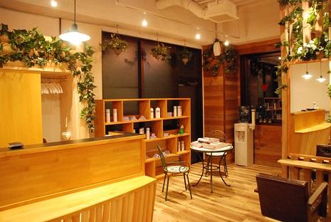 店舗改装 サロン 美容室