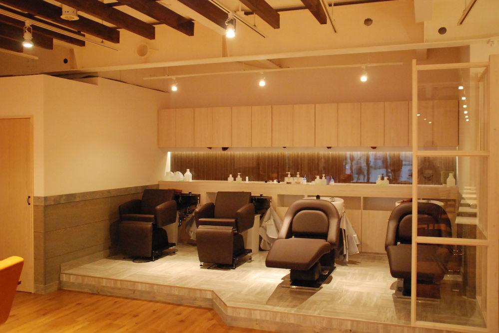 可愛い 美容室 オシャレ サロン シンプル
