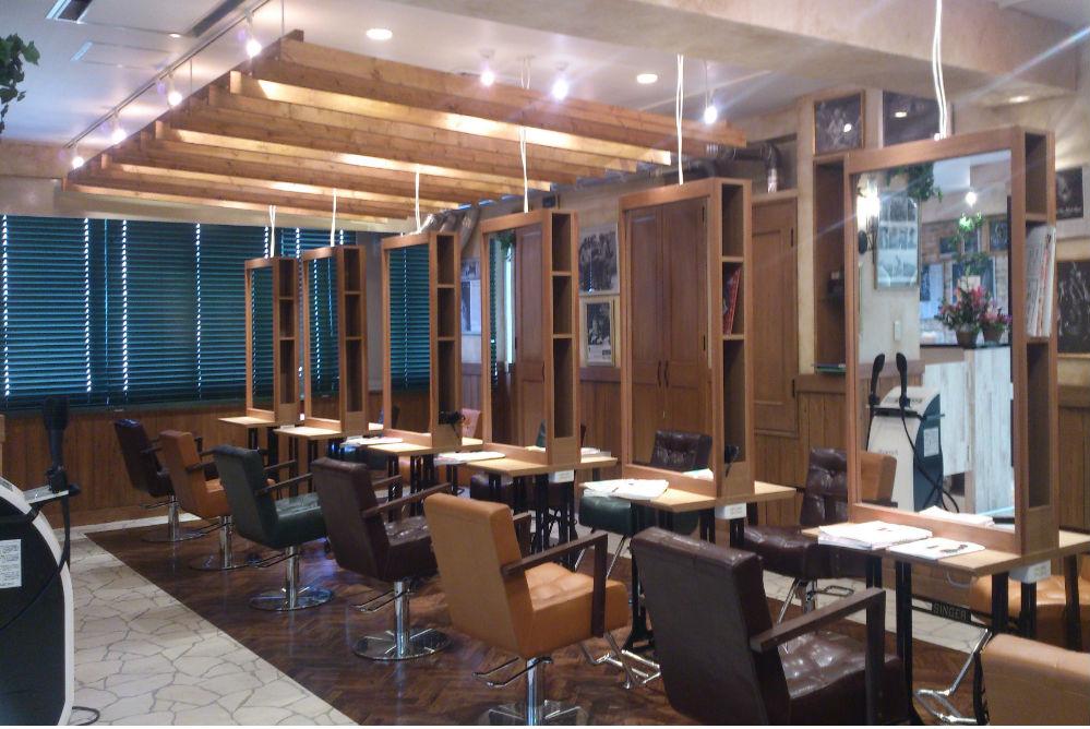 美容室 シック オシャレ サロン 店舗