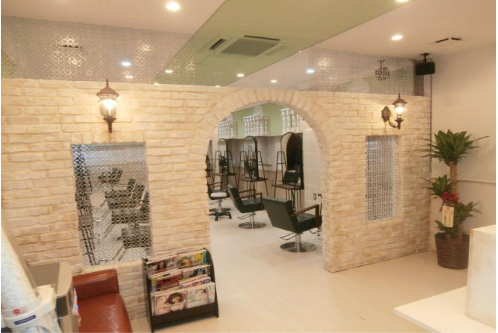 美容室 リフォーム 店舗 改装 オシャレ かわいい