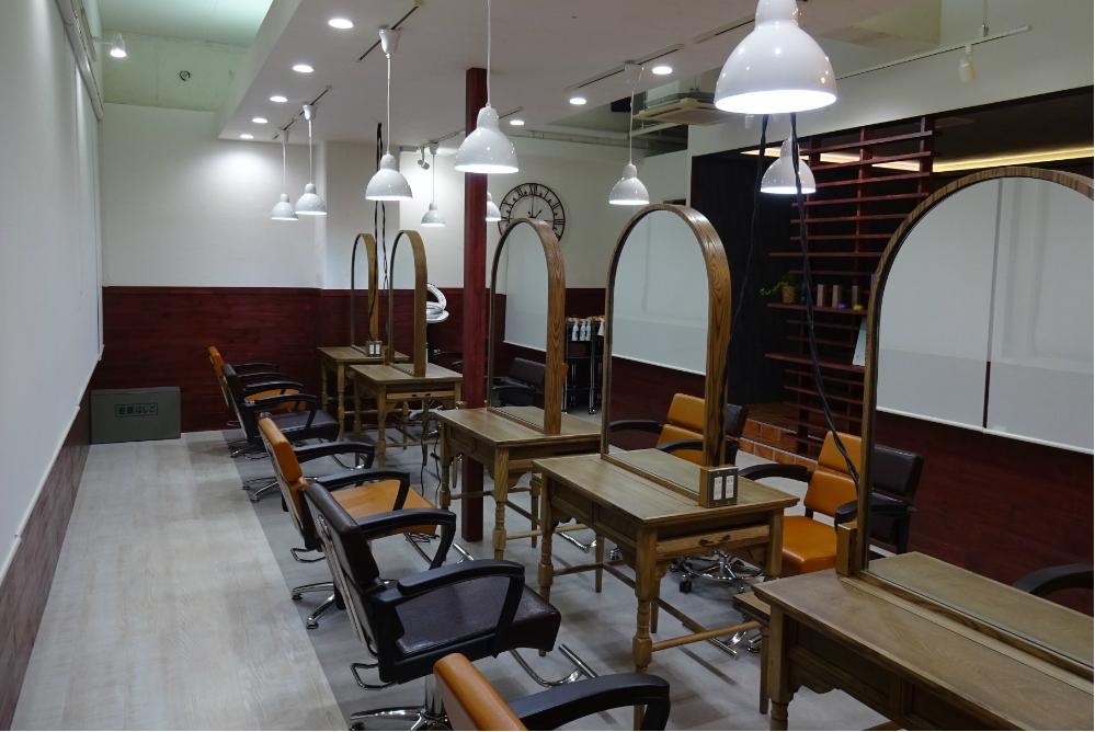 美容室 サロン オシャレ リフォーム 店舗 内装デザイン