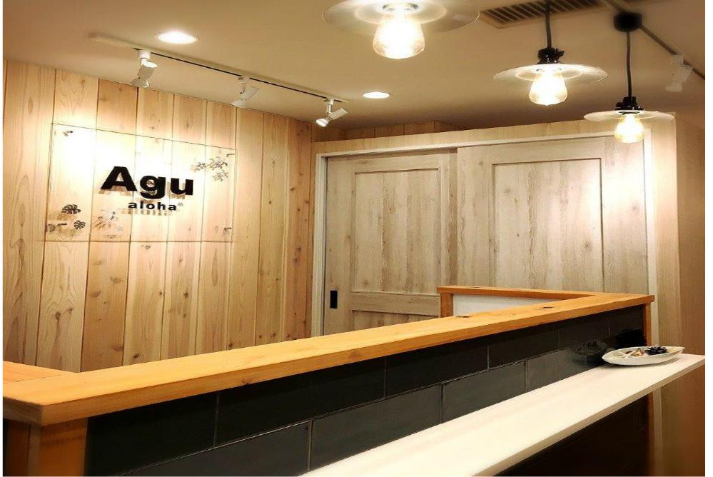 美容室 店舗 リフォーム オシャレ サロン 改装 内装デザイン カウンター