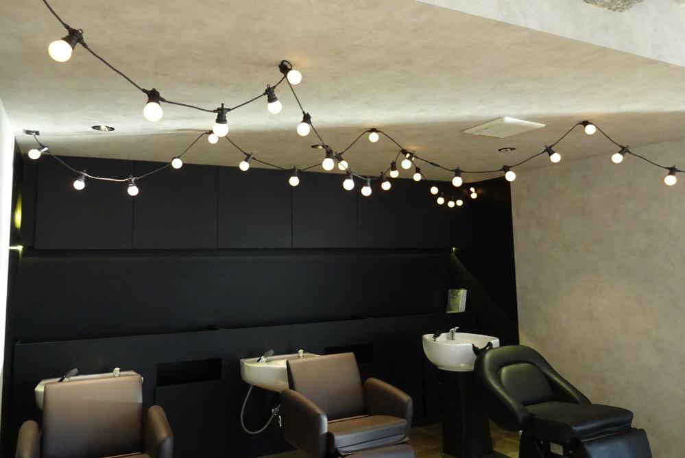 シャンプー台 サロン 椅子 美容室 リフォーム 店舗内装工事 店舗 改装 かわいい デザイン 内装デザイン 店舗デザイン 店舗リフォーム