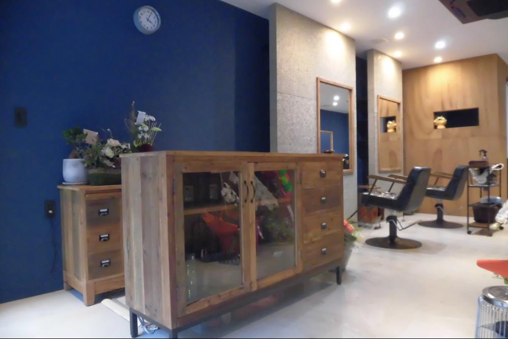 理容室 美容室 サロン オシャレ リフォーム 店舗 改装 デザイン 内装デザイン 店舗デザイン 店舗リフォーム