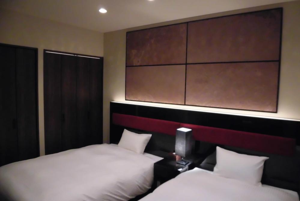 ホテル内装工事 《Bed Room》 ベッドルーム�U