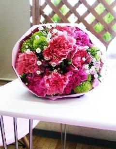 ピンクドットコム花束