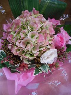 紫陽花アレンジメント