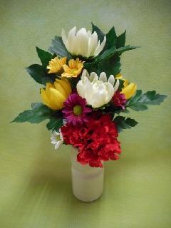 仏花シルクフラワー
