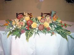 南国をイメージしたトロピカル装花Ver.�T